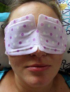 Hot Eyes Steam - rozgrzewająca maska na oczy